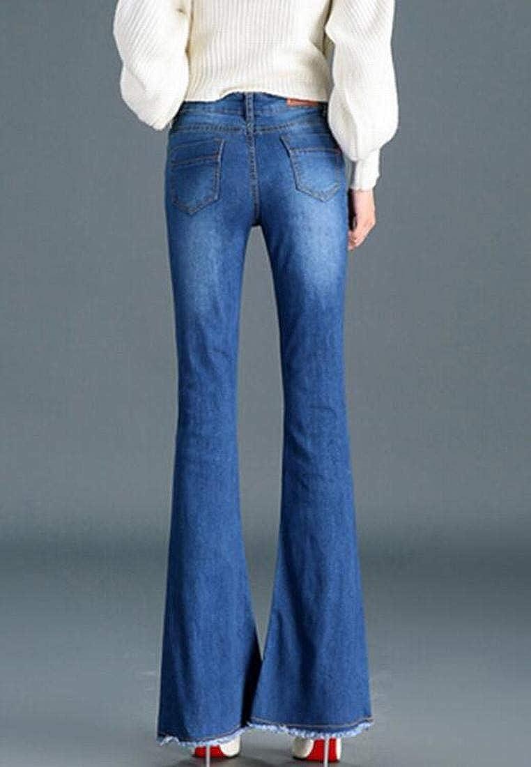 Amazon.com: BYWX - Pantalones de otoño para mujer, estilo ...