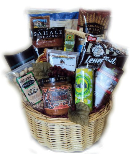 Healthy Birthday for Him Basket by Well Baskets