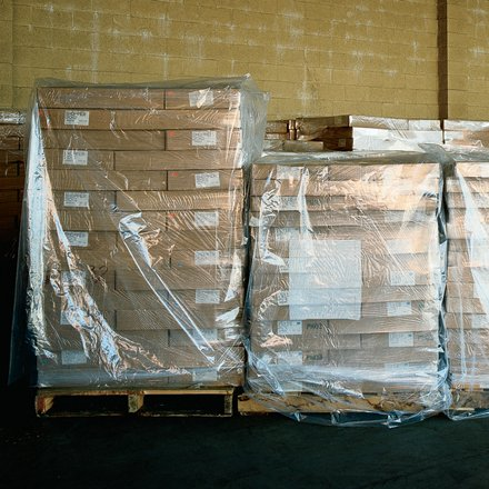 (Clear Pallet Covers - 51X49x73