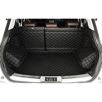 Amazon Com Auto Mall Waterproof Custom Fit Leather Trunk Mats Cargo