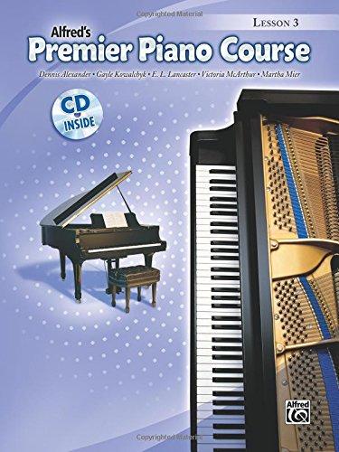 Premier Piano Course Lesson Book, Bk 3: Book & CD