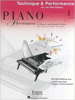Ebook Descargar Libros Gratis Piano Adventures: Technique And Performance Book - Level 1 Epub En Kindle