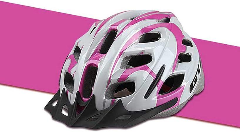 John-L Casco Bicicleta Niña, Casco Bicicleta Ajustable, Casco De ...