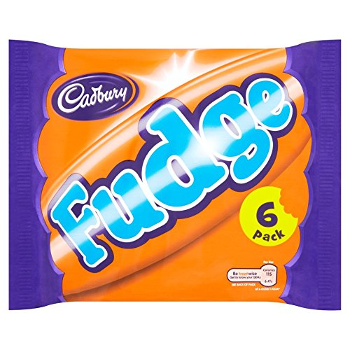 Cadbury Fudge British Chocolate Bar 6 Pack (156g)