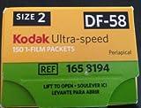 KODAK ULTRA-SPEED DF-58 DENTAL X-RAY FILM