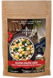 Caldera Chicken Curry Freeze Dried Gluten Free Paleo Meal for Backpacking and Camping