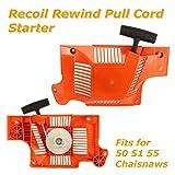 Husqvarna Husky Recoil Rewind Pull Cord Starter For Husqvarna 55 51 50 Chainsaw 503608803