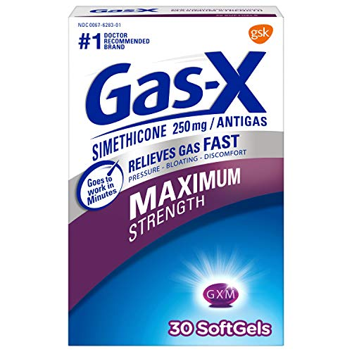 Gas-X Maximum Strength Softgels for Fast Gas Relief, 30ct