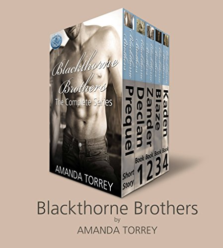 Blackthorne Brothers: The Complete Collection: Books 1-4, plus prequel (Healing Springs Book 6) (Healing Amanda Torrey Springs)