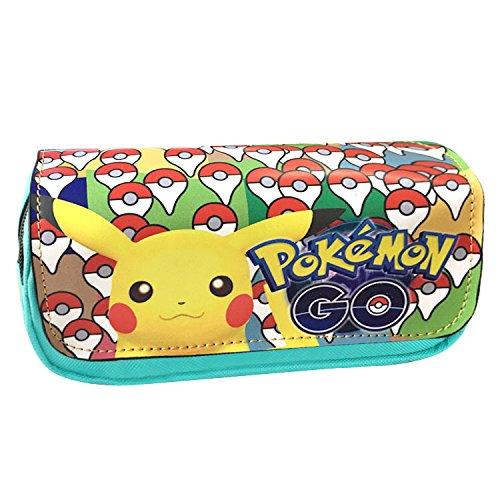 Estuches Material escolar Portatodo doble Pokemon Pikachu Mint
