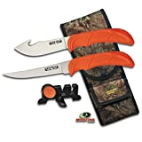 Outdoor Edge WildLite, WL-6, Field Dressing and Game Processing Hunting Knife Set (6-Piece)
