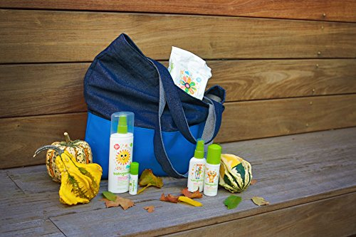 Babyganics Baby Sunscreen Spray SPF 50, 6oz Spray Bottle + Natural Insect Repellent 6oz Spray Bottle Combo Pack