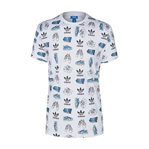 Adidas Originals 25 Art Men's T-Shirt White s24560