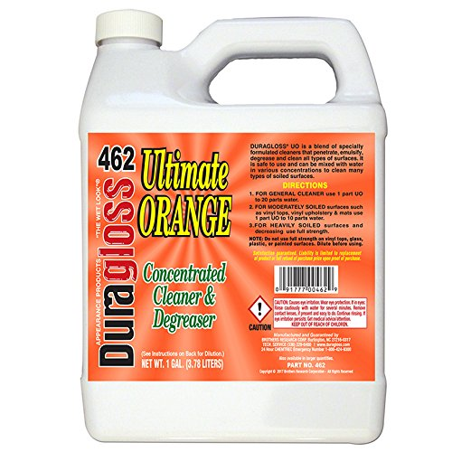Duragloss 462 Ultimate Orange Concentrated Cleaner and Degreaser - 1 Gallon
