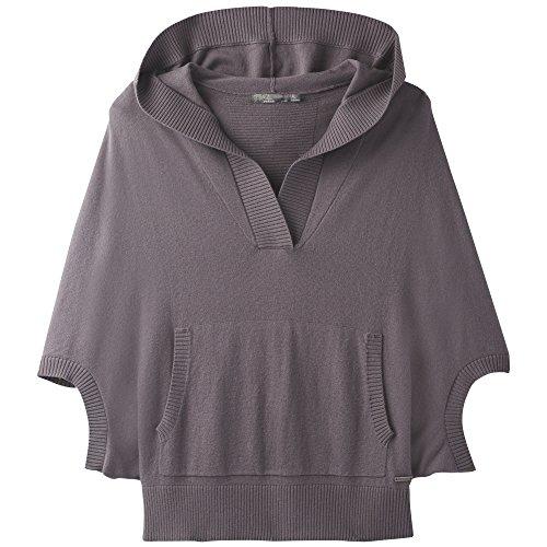 Merino Wool Blend Sweater (prAna Women's Daria Sweater Hoodie, Muted Truffle, X-Small)