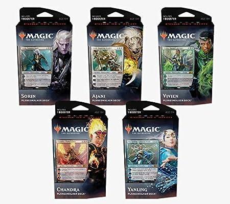 Magic The Gathering MTG - Core Set 2020 - 1 Planeswalker Deck - Selección aleatoria - Espanol - Random Selection - Spanish