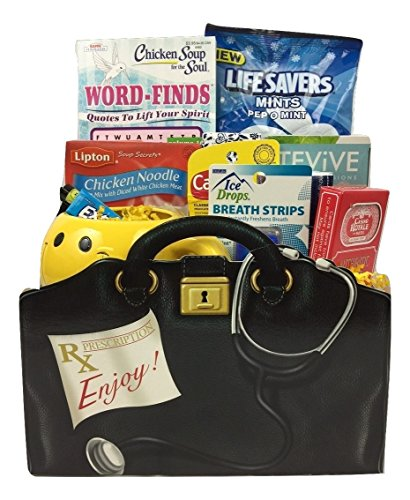 Gifts Unlimited Gift Basket, Get Well Wishes - Great Gift for Surgery / Injury / Cold / Flu / Illness - Send some Care, Concern, and Love in This Care Package
