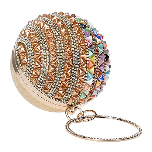 De Main Purse À Cristal Or couleur Sacs Soirée Pochette Mariage Sac Diamant Femmes Pour Enveloppe Or Clutch Embrayages qpttF7