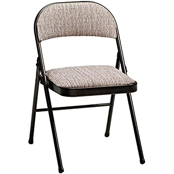 Amazon Com Meco 4 Pack Deluxe Vinyl Padded Folding Chair