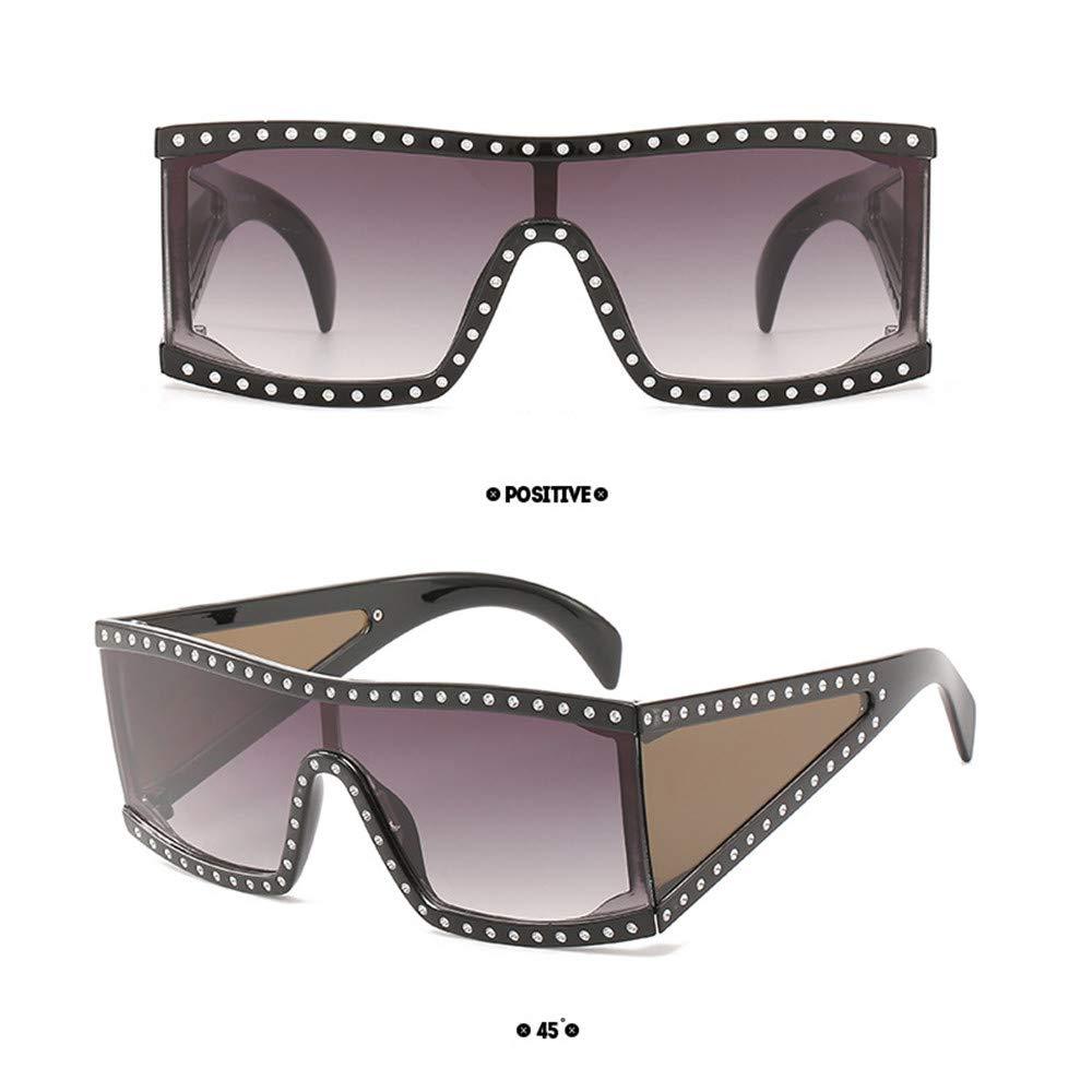 ASTV One-piece Women Big Framed Sunglasses