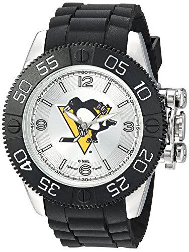"""Game Time Men's NHL-BEA-PIT """"Beast"""" Watch - Pittsburgh Penguins"""