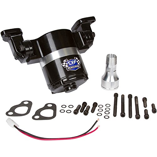 Chevy Small Block Electric Water Pump - 35 GPM, Black Aluminum, 283, 327, 350, 400, SBC - Chevy Water Pump