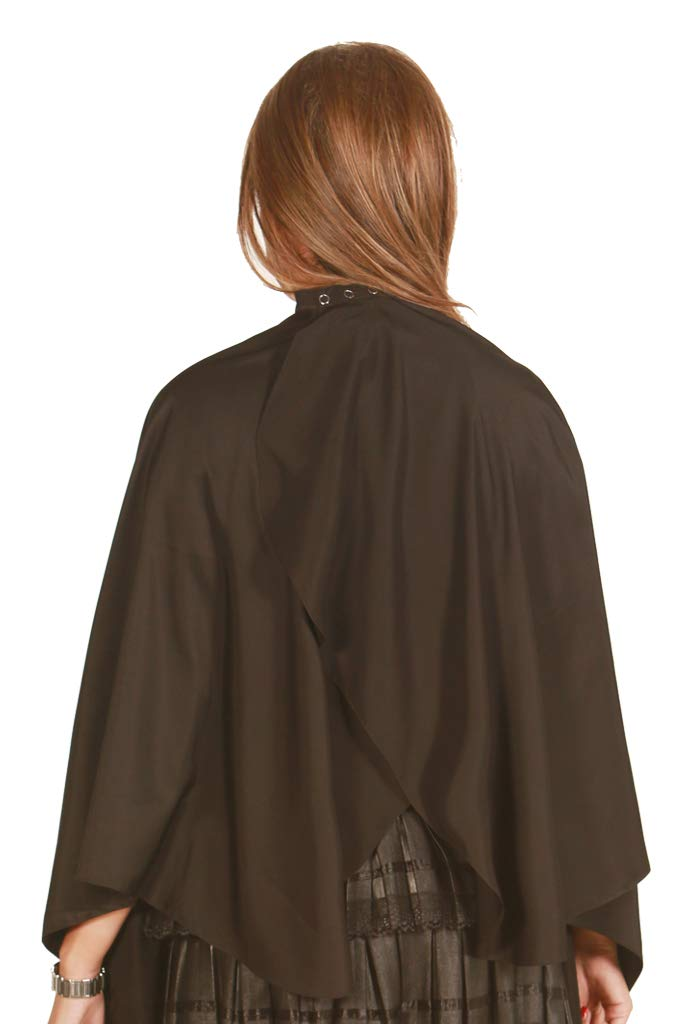 Ladybird Line All Purpose Extra Long Black Cape Bleach Resistant and Water Repellent - Pack of 3