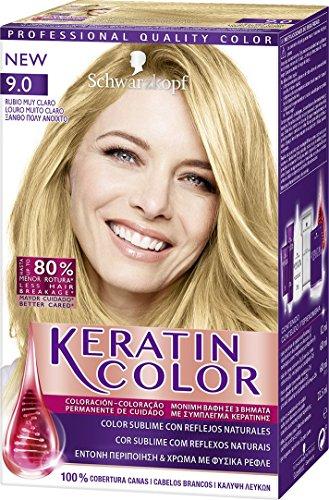 Schwarzkopf KERATIN COLOR Professional Quality Permanent Color Hair Dye Tono 9