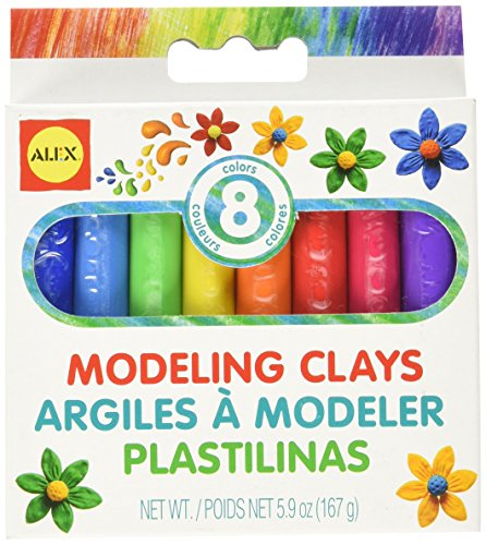 Alex Modeling Clay - ALEX Toys Artist Studio 8 Modeling Clays