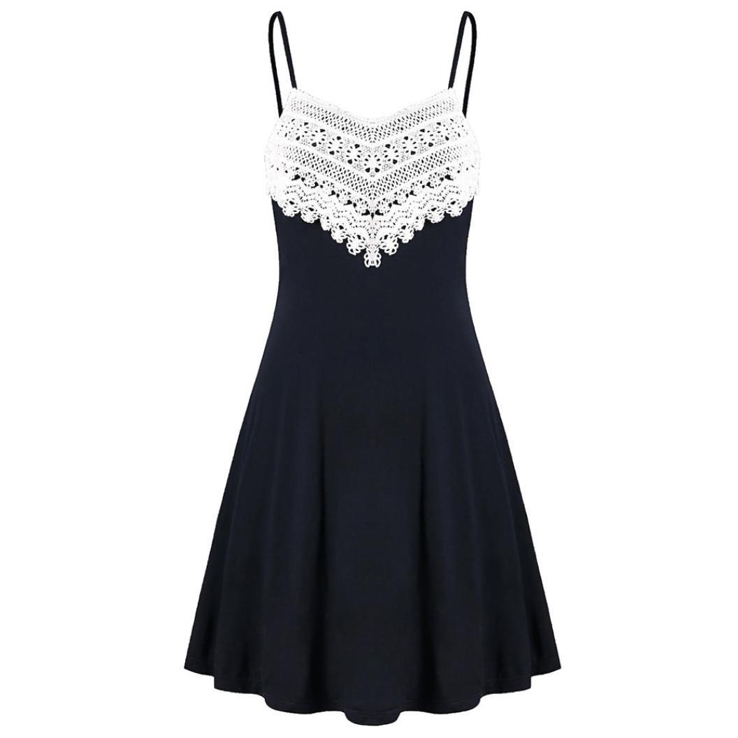 Sommerkleider Damen Kurz Schleuderkleid, Kingprost ...
