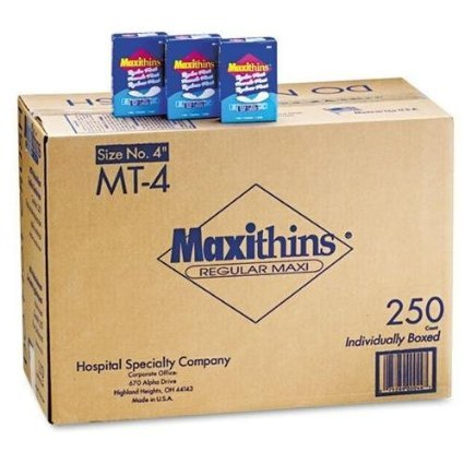 Hospeco 599-MT-4 C-Folded Maxithins Pads - Folded Maxithins Pads