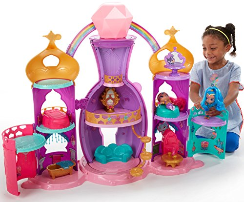 Fisher-Price Nickelodeon Shimmer & Shine, Magical Light-Up Genie Palace Playset ()