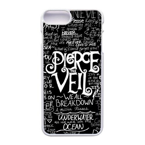 Coque,Apple Coque iphone 7 Plus (5.5 pouce) Case Coque, Generic Pop Pierce The Veil Cover Case Cover for Coque iphone 7 Plus (5.5 pouce) blanc Hard Plastic Phone Case Cover
