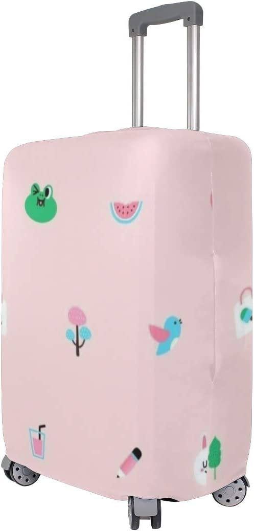 18//22//26//29 Inch Travel Suitcase Luggage Protective Cover with Frog