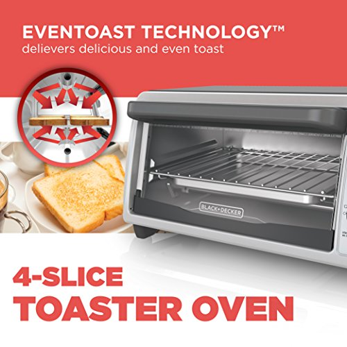Countertop Oven Malaysia : ... Slice Countertop Toaster Oven, Stainless steel Silver TO1322SBD