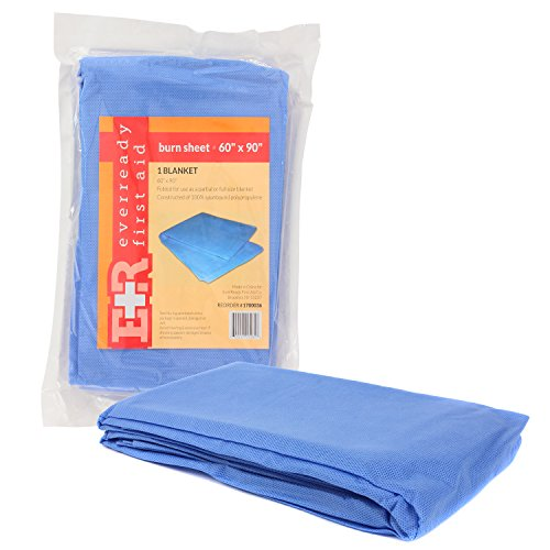 Ever Ready First Aid Sterile Burn Sheet Blanket - 60