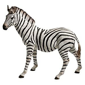 Design Toscano Zora, The Zebra Statue