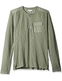Calvin Klein Jeans Men's Long Sleeve Surplus Henley Shirt