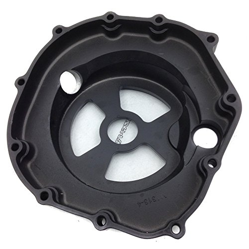 Motorcycle Engine Clutch Cover See Through Kawasaki Zx14R Zzr1400 2006-2013 Black Right