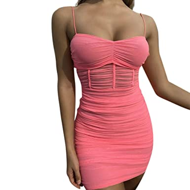 874b74cc679fe Amazon.com: 2019 Fashion Women's Sexy Night Club Dresses, Summer ...