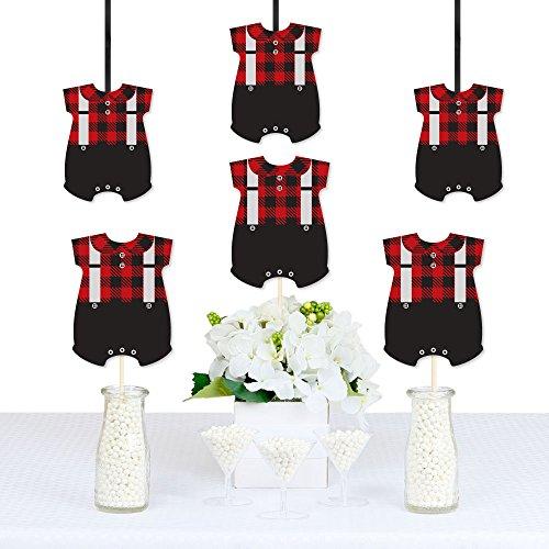 Lumberjack Birthday Party Decorations DIY Buffalo Plaid Baby Shower Or 1st