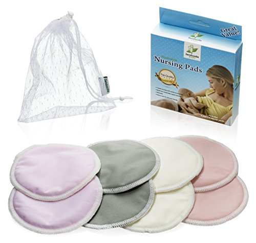 Washable Organic Hypoallergenic Breastfeeding Absorbency product image
