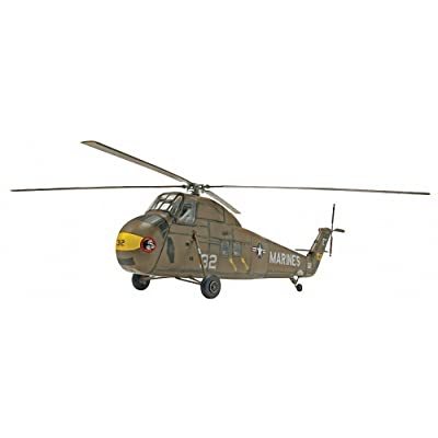 Revell Marine UH-34 D Helicopter Plastic Model Kit: Toys & Games