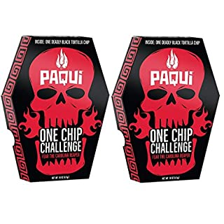 Carolina Reaper Madness One Chip Challenge Tortilla Chip (16 oz, 2-Pack)