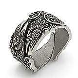 triskelion ring - TTKP Viking Ravens Rings Celtic Symber Triskele Ring Scandinavian Norse Knot Anel Bague Men Jewelry Size 10