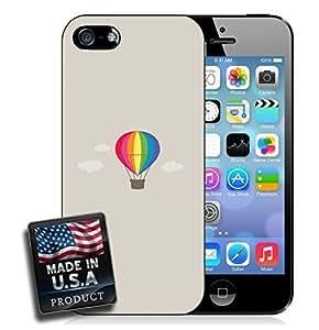 Hot Air Balloon Rainbow Sky Clouds Design For SamSung Galaxy S4 Phone Case Cover Hard Case