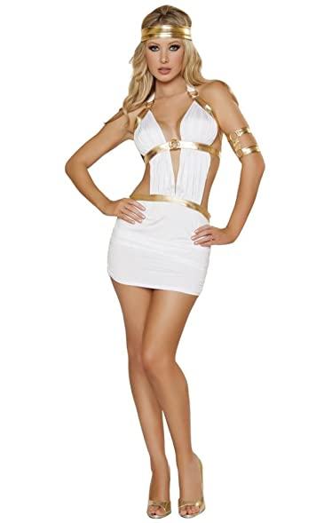 Sexy Aphrodite Goddess Halloween Costume  sc 1 st  Amazon.com & Amazon.com: Sexy Aphrodite Goddess Halloween Costume: Clothing