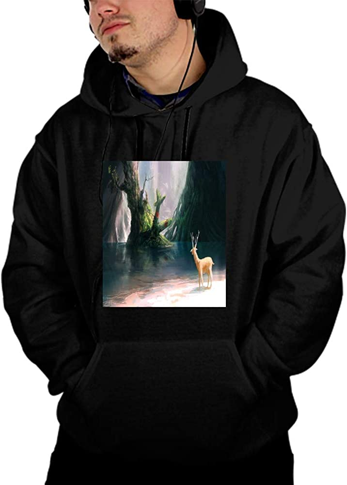 SHUIZHIQING Unisex 3D Printed Drawstring Pockets Pullover Hoodie Hooded Sweatshirt Artistic Psychedelic Mario