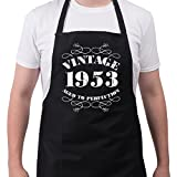 Men's 65th Birthday Gift Apron Vintage 1953 Aprons 65th Birthday Gifts