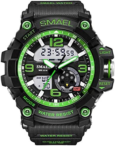 Mens Military Watch Students Sports Digital Watch Alarm Chronograph S-Shock Army Quartz Clock